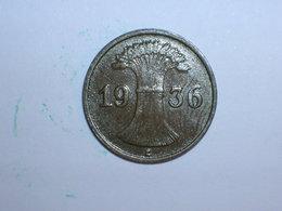 ALEMANIA 1 REICHPFENNIG 1936 E(1161) - [ 4] 1933-1945 : Tercer Reich