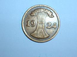 ALEMANIA 1 REICHPFENNIG 1924 G (1165) - 2 Rentenpfennig & 2 Reichspfennig