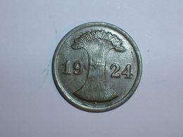 ALEMANIA 1 REICHPFENNIG 1924 J (1166) - 2 Rentenpfennig & 2 Reichspfennig