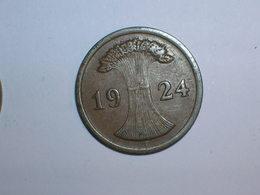 ALEMANIA 1 REICHPFENNIG 1924 E (1169) - 2 Rentenpfennig & 2 Reichspfennig