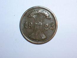 ALEMANIA 1 REICHPFENNIG 1924 F (1170) - 2 Rentenpfennig & 2 Reichspfennig