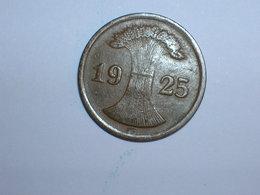 ALEMANIA 1 REICHPFENNIG 1925 G (1171) - 2 Rentenpfennig & 2 Reichspfennig