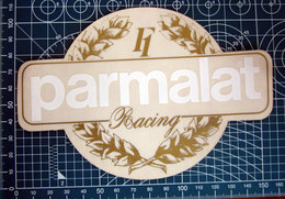 PARMALAT F1 RACING VINTAGE STICKER ADESIVO NEW ORIGINAL - Stickers