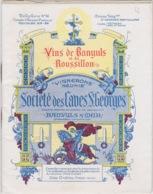 66 - BANYULS-SUR-MER - CATALOGUE DE PRIX DE VINS - FORMAT 13 X 10.5 Cm - SOCIETE DES CAVES SAINT-GEORGES - 20 PAGES - Banyuls Sur Mer