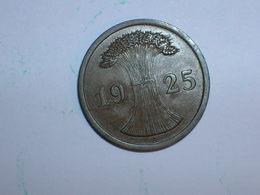 ALEMANIA 1 REICHPFENNIG 1925 A (1172) - 2 Rentenpfennig & 2 Reichspfennig