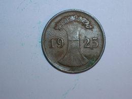 ALEMANIA 1 REICHPFENNIG 1925 D (1174) - 2 Rentenpfennig & 2 Reichspfennig