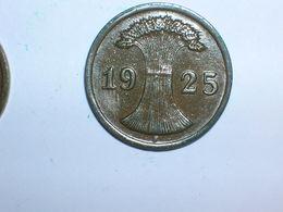 ALEMANIA 1 REICHPFENNIG 1925 F (1176) - 2 Rentenpfennig & 2 Reichspfennig