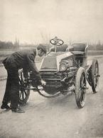 Levegh Gagnant De La Course Paris Toulouse  1900 - Autorennen