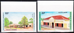 CAMEROUN (1985) Hotels. Set Of 2 Imperforates. Scott Nos 790-1, Yvert Nos 766-7. - Camerun (1960-...)