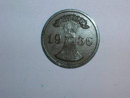 ALEMANIA 1 REICHPFENNIG 1936 F (1179) - [ 4] 1933-1945 : Third Reich