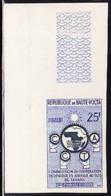 UPPER VOLTA (1960) Hands Holding Gears. Imperforate. C.C.T.A. Scott No 89, Yvert No 90. - Obervolta (1958-1984)