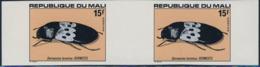 MALI (1978) Beetles. Set Of Five Imperforates Pairs. Scott Nos 308-12, Yvert Nos 311-5. - Mali (1959-...)