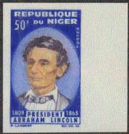 NIGER (1965) Lincoln. Imperforate. Scott No 151, Yvert No 157. - Niger (1960-...)