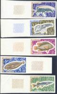 CAMEROUN (1968) Marine Life. Fish. Set Of 10 Imperforates. Scott Nos 476-85, Yvert Nos 456-65. - Camerun (1960-...)