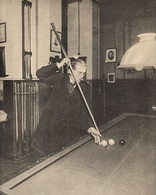 Billard Maurice Vignaux Champion Du Monde De 1872 à 1876   1900 - Billares