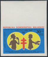 MADAGASCAR (1982) TB Bacillus Centenary. Imperforate. Scott No 629, Yvert No 666. - Madagascar (1960-...)