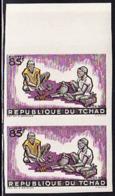 CHAD (1964) Smiths. Imperforate Pair. Scott No 99, Yvert No 97. - Tschad (1960-...)