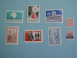 1972 Chili  Lot De 8 Timbres Yv 378 - 382 - 384 - 388 - 394 - 396 -  397 - 400  ** MNH  - - Chili