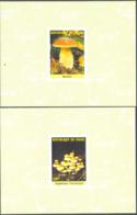 NIGER (1985) Mushrooms. Set Of 5 Imperforate Minisheets. Scott Nos 717-21, Yvert Nos 692-6. - Niger (1960-...)