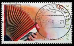 BRD 2001 Nr 2180 Zentrisch Gestempelt X6DB452 - [7] República Federal