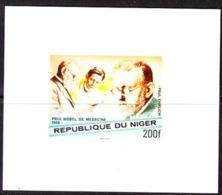 NIGER (1977) Paul Ehrlich. Imperforate Minisheet. Nobel Prize For Medicine. Scott No 410, Yvert No 415. - Niger (1960-...)