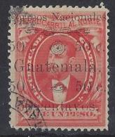 "GUATEMALA......."" 1886..""...........RAILWAY........SG27......VFU... - Guatemala"