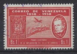 "VENEZUELA........."" 1959...""...STAMP CENT...........SG1575............VFU... - Venezuela"