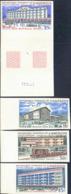 CAMEROUN (1966) Various Tourist Sites. Complete Set Of 7 Imperforates. Scott Nos C63-9, Yvert Nos PA74-80. - Camerun (1960-...)