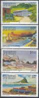 ST. VINCENT (1983) Scenes From Union Island. Set Of 4 Overprinted SPECIMEN. Scott Nos 267-70, Yvert Nos 266-9. - St.-Vincent En De Grenadines