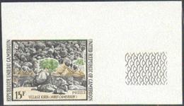CAMEROUN (1973) Places. Set Of 3 Imperforates. Scott Nos 579-81, Yvert Nos 559-61. - Camerun (1960-...)