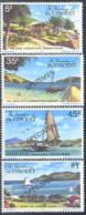 ST. VINCENT (1977) Canouan Island Scenes. Set Of 4 Overprinted SPECIMEN. Scott Nos 129-32. - St.-Vincent En De Grenadines