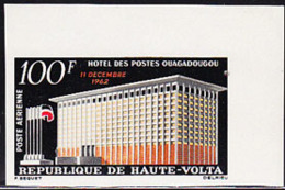 UPPER VOLTA (1962) Post Office. Imperforate. Scott No C7, Yvert No PA7. - Obervolta (1958-1984)
