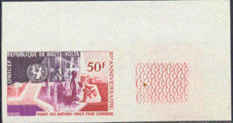 UPPER VOLTA (1969) Blood Donor. Imperforate. 50th Anniversary Of League Of Red Cross Societies. Scott No 195 - Obervolta (1958-1984)