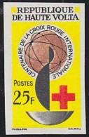 UPPER VOLTA (1963) Red Cross Centenary. Imperforate. Scott No 127, Yvert No 129. - Alto Volta (1958-1984)