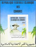 COMORO ISLANDS (1982) Scouts. Imperforate Souvenir Sheet. 75th Anniversary Of Scouting. Scott No 278 - Komoren (1975-...)