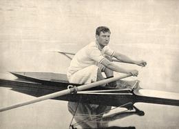Aviron Louis Prével Gagnant Du Championnat De France Et Du Championnat D' Europe à Un Rameur   1900 - Aviron