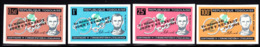 TOGO (1964) Lincoln.Centenary Of Emancipation Proclamation. Set Of 4 Imperforates Overprinted For JFK Memorial. - Togo (1960-...)