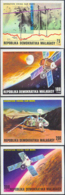 MADAGASCAR (1976) Viking Mars Landing. Set Of 4 Imperforates. Scott Nos 566-9, Yvert Nos 600-3. - Madagaskar (1960-...)