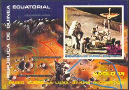 EQUATORIAL GUINEA (1972) Apollo 15. Imperforate S/S. - Äquatorial-Guinea