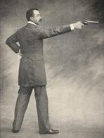 TIR Capitaine Louis Chauchat Champion De France Au Revolver  1900 - Sports