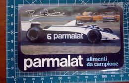 PARMALAT RICARDO ZUNINO VINTAGE STICKER ADESIVO NEW ORIGINAL - Stickers