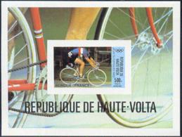 UPPER VOLTA (1980) Cyclist. Imperforate S/S. Scott No C262, Yvert No BF16. - Alto Volta (1958-1984)