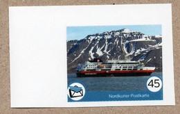BRD - Privatpost - Nordkurier - Schiff Ship - Die FRAM Der Hurtigruten Vor Longyearbyen (Spitzbergen) - Privatpost