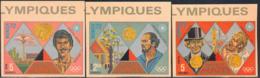 HAITI (1972) Munich Olympics. Set Of 3 Imperforates. - Haiti