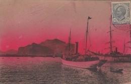 PALERMO-PORTO--CARTOLINA VIAGGIATA IL 20-3-1912 - Genova (Genoa)