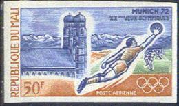 MALI (1972) Munich Olympics. Imperforate. Scott No C147, Yvert No PA147. - Mali (1959-...)