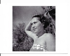 LITTÉRATURE - PHOTOGRAPHIE : Photo De Femme Prise Par Georges SIMENON, Lors D'un Voyage En Polynésie. CPSM. - Fotografia