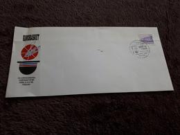Old Letter - EUROBASKET Zagreb 1989, Zagreb - Croazia