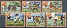 Laos YT N°400/405 Coupe Du Monde De Football Espana 1982 Oblitéré ° - Laos