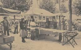 """BRUXELLES - Un Coin Du Vieux Marché - Bouquinerie """"La Tente Rouge"""" - Markten"""